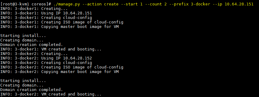 Using CentOS 7, KVM, and CoreOS to build a container lab